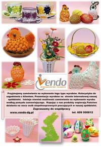Zamówienia na wyroby świąteczne i dekoracyjne