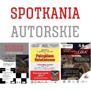 Promocja twórczości niepełnosprawnych - SPOTKANIA AUTORSKIE
